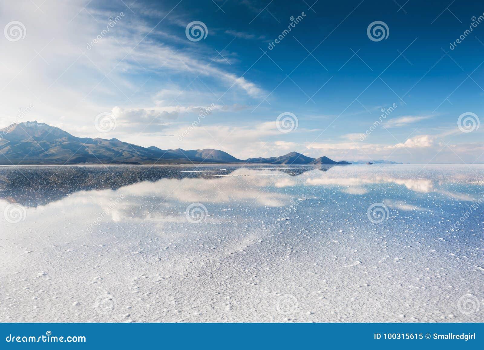 Sal Salar de Uyuni plano, Bolivia