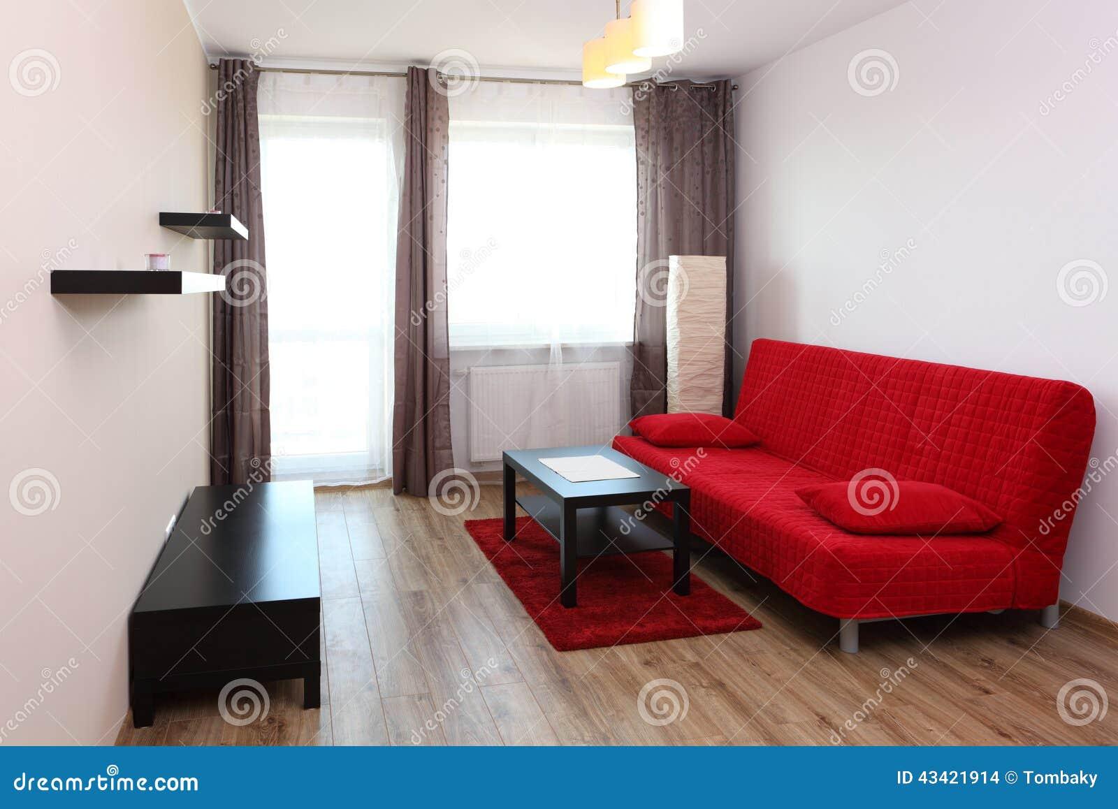 Sala Com Textura Vermelha Combinando Decorao De Sala Com Sof  -> Papel De Parede Para Sala Com Sofa Vermelho