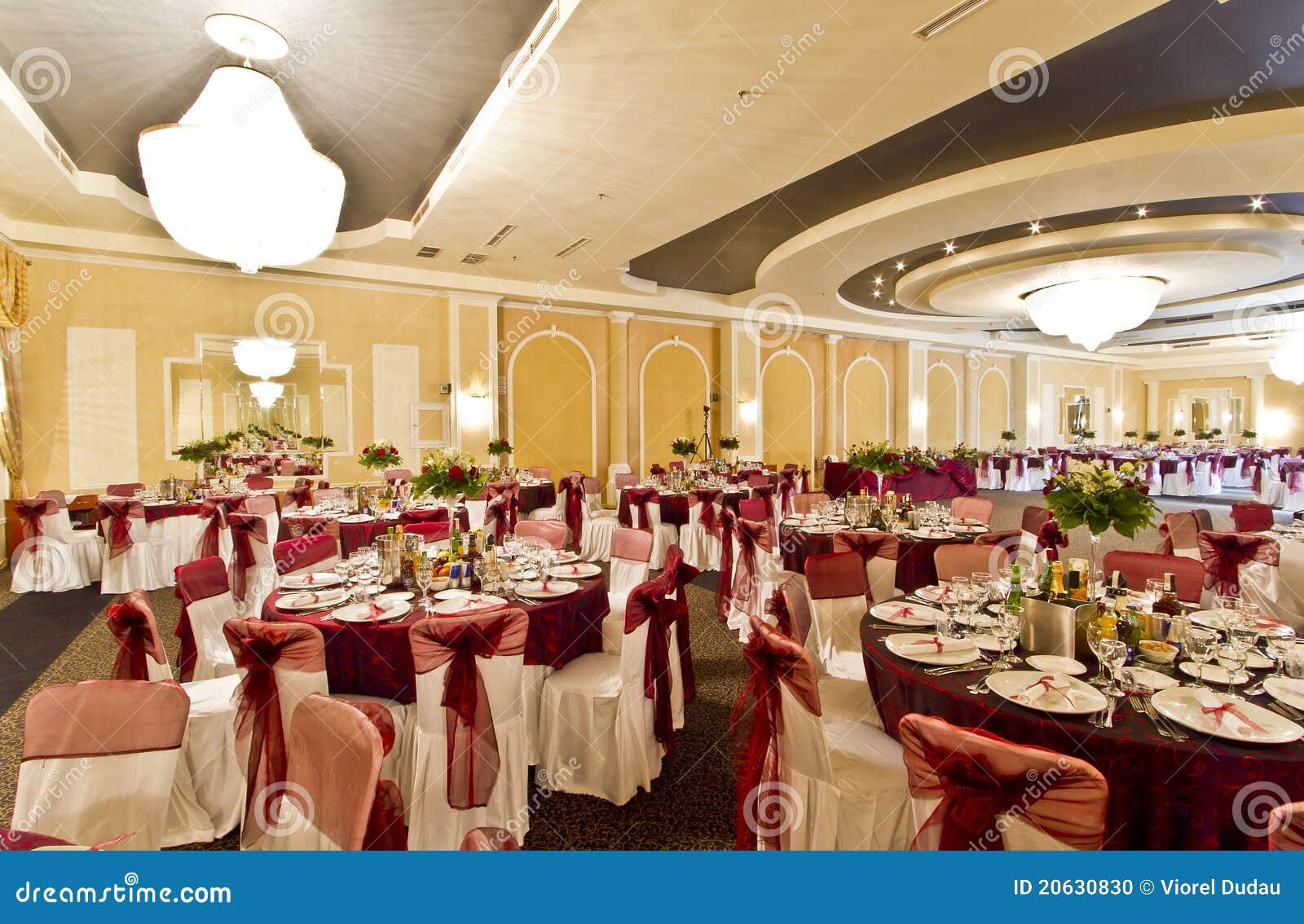 Sala da ballo di banchetto o Wedding