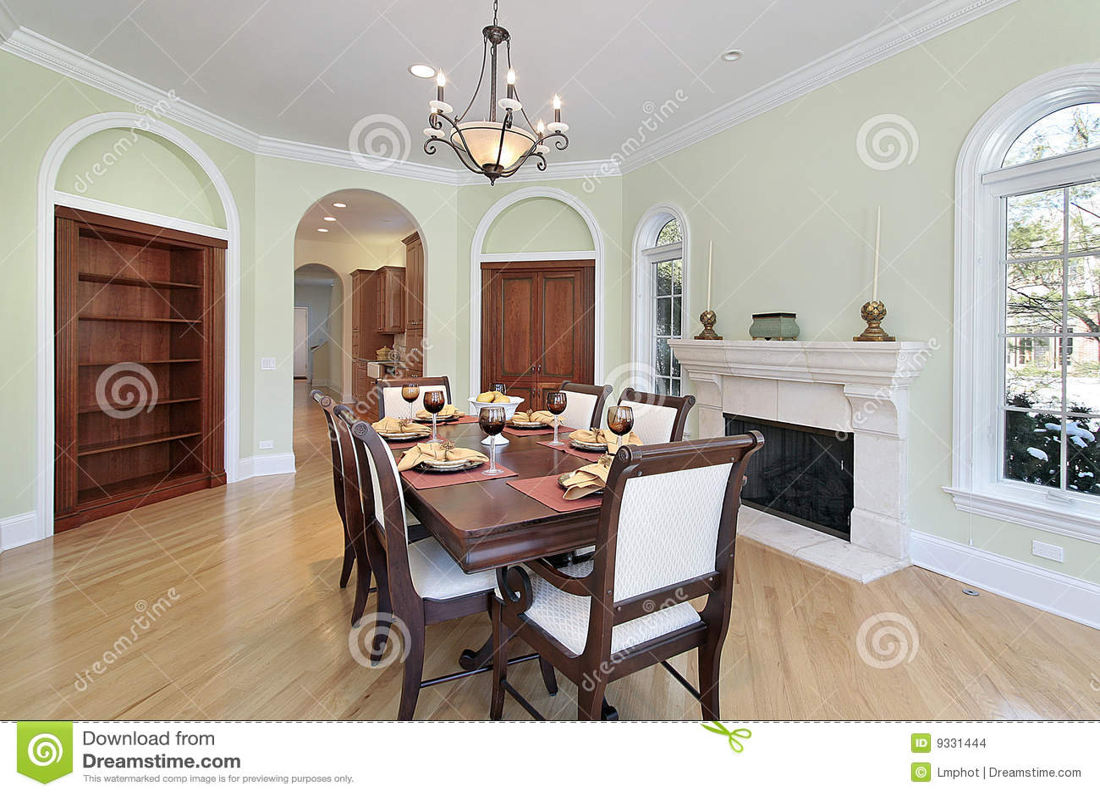 Pareti Colorate Sala Da Pranzo ~ Ispirazione Interior Design ...