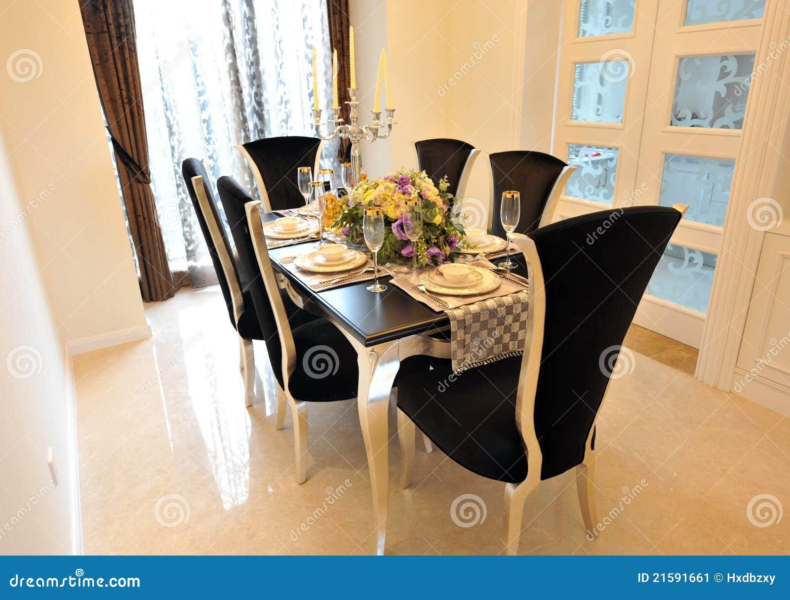Sala Da Pranzo Di Lusso Immagine Stock Immagine: 21591661 #A36C28 1300 1004 Sala Da Pranzo Luigi Xv