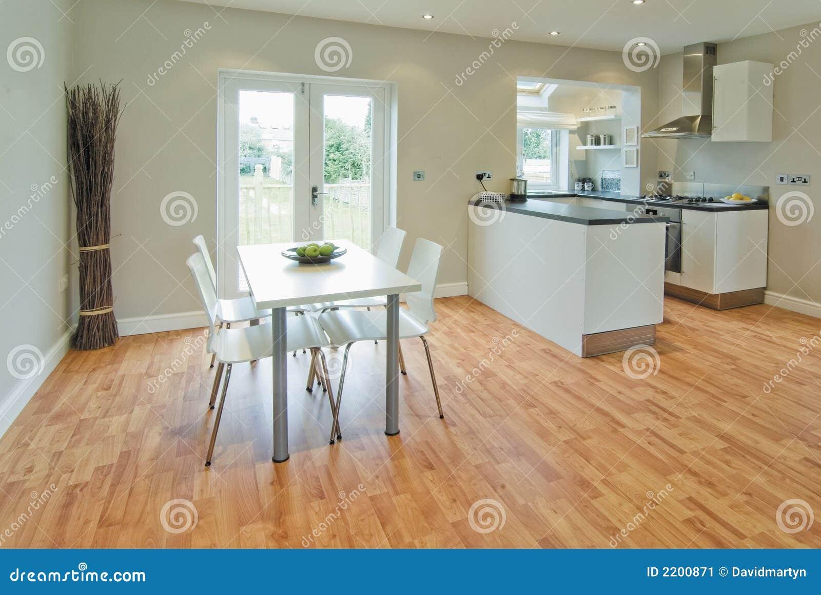Sala da pranzo e cucina immagine stock. Immagine di agente - 2200871