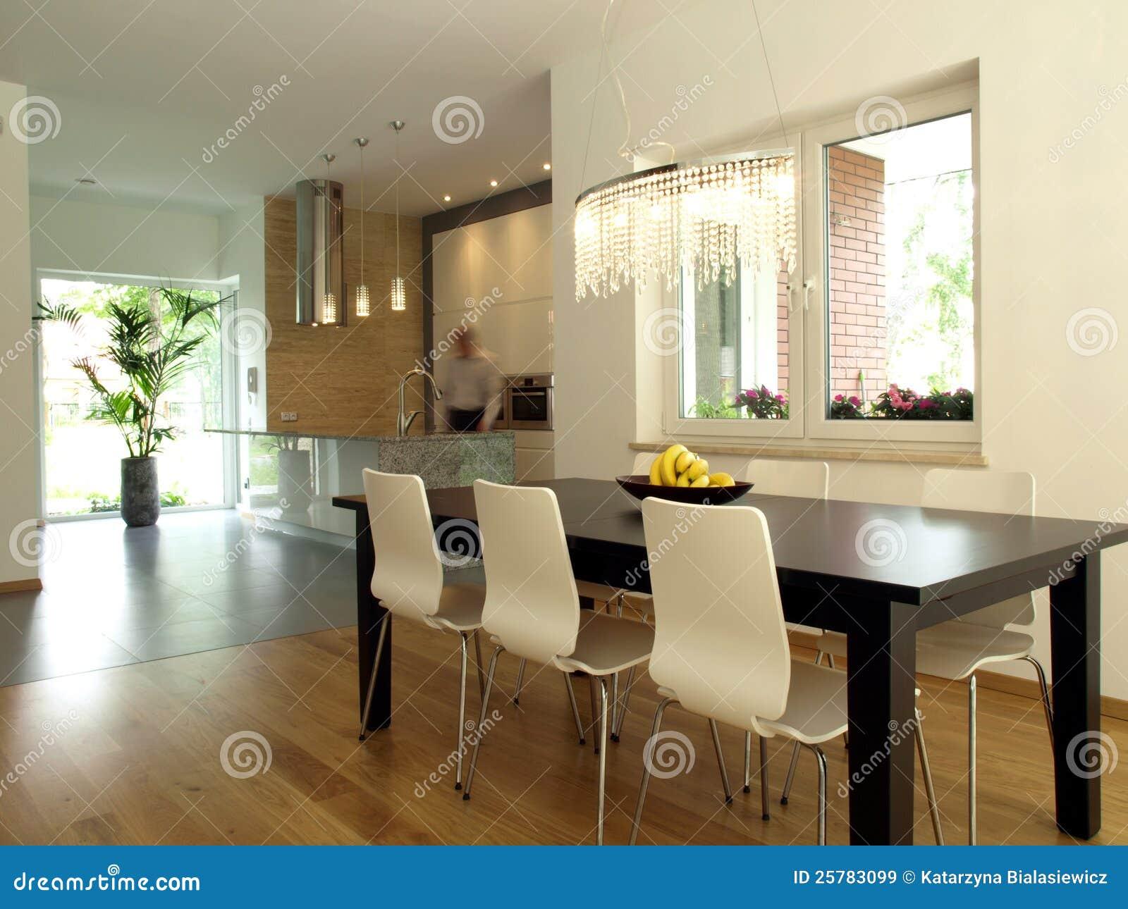 Sala da pranzo e cucina immagini stock libere da diritti - Sala e cucina ...