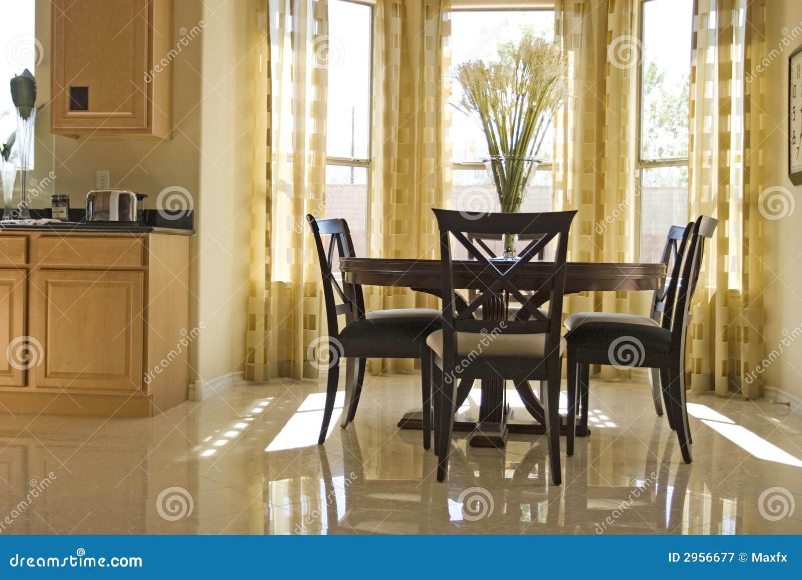 sala da pranzo elegante immagine stock immagine di