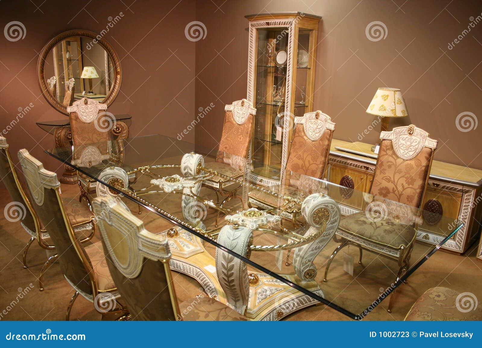Sala da pranzo lussuosa 2 immagine stock immagine di for Sala da pranzo reale