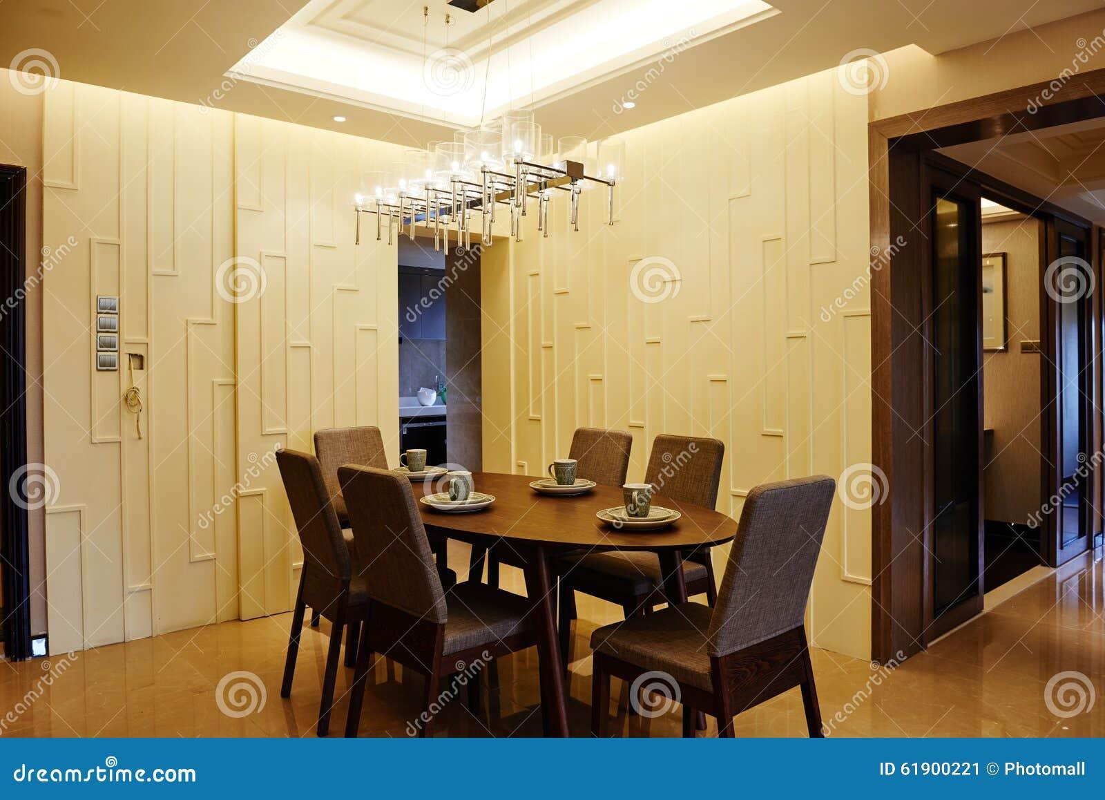 Assi Di Legno In Inglese : Sala da pranzo moderna immagine stock immagine di scrittorio