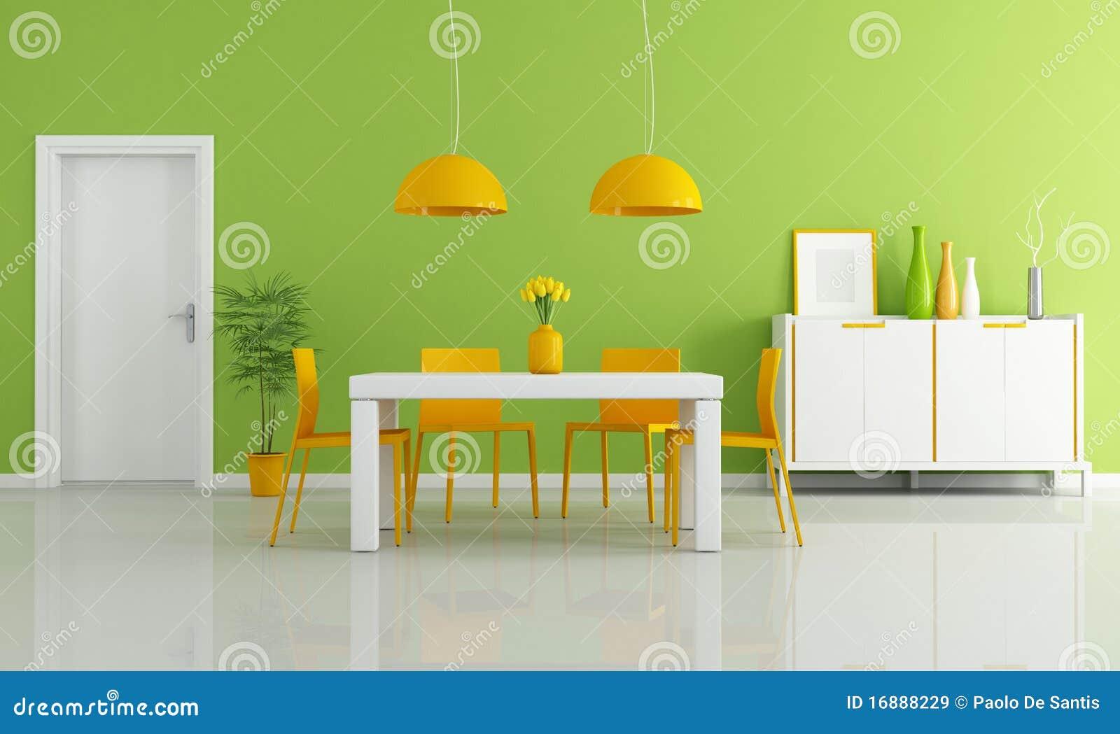 Sala Da Pranzo Moderna Colorata Immagini Stock Libere Da Diritti  #BF8A0C 1300 870 Sala Da Pranzo Modello Regina