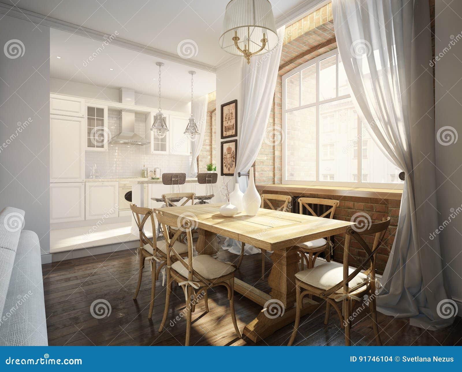 Sala Da Pranzo Classica Moderna.Sala Da Pranzo Tradizionale Classica Moderna E Cucina Bianca