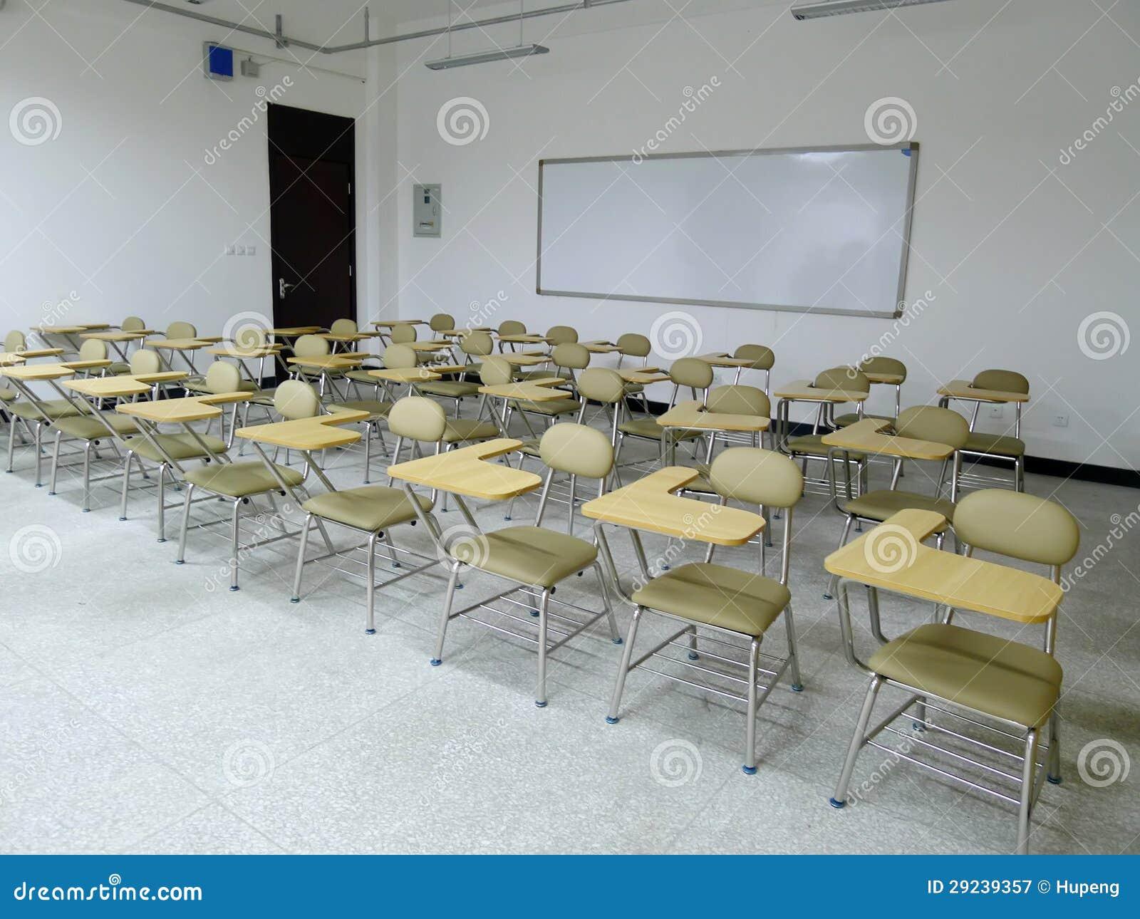 Download Sala de aula imagem de stock. Imagem de cadeira, arquitetura - 29239357