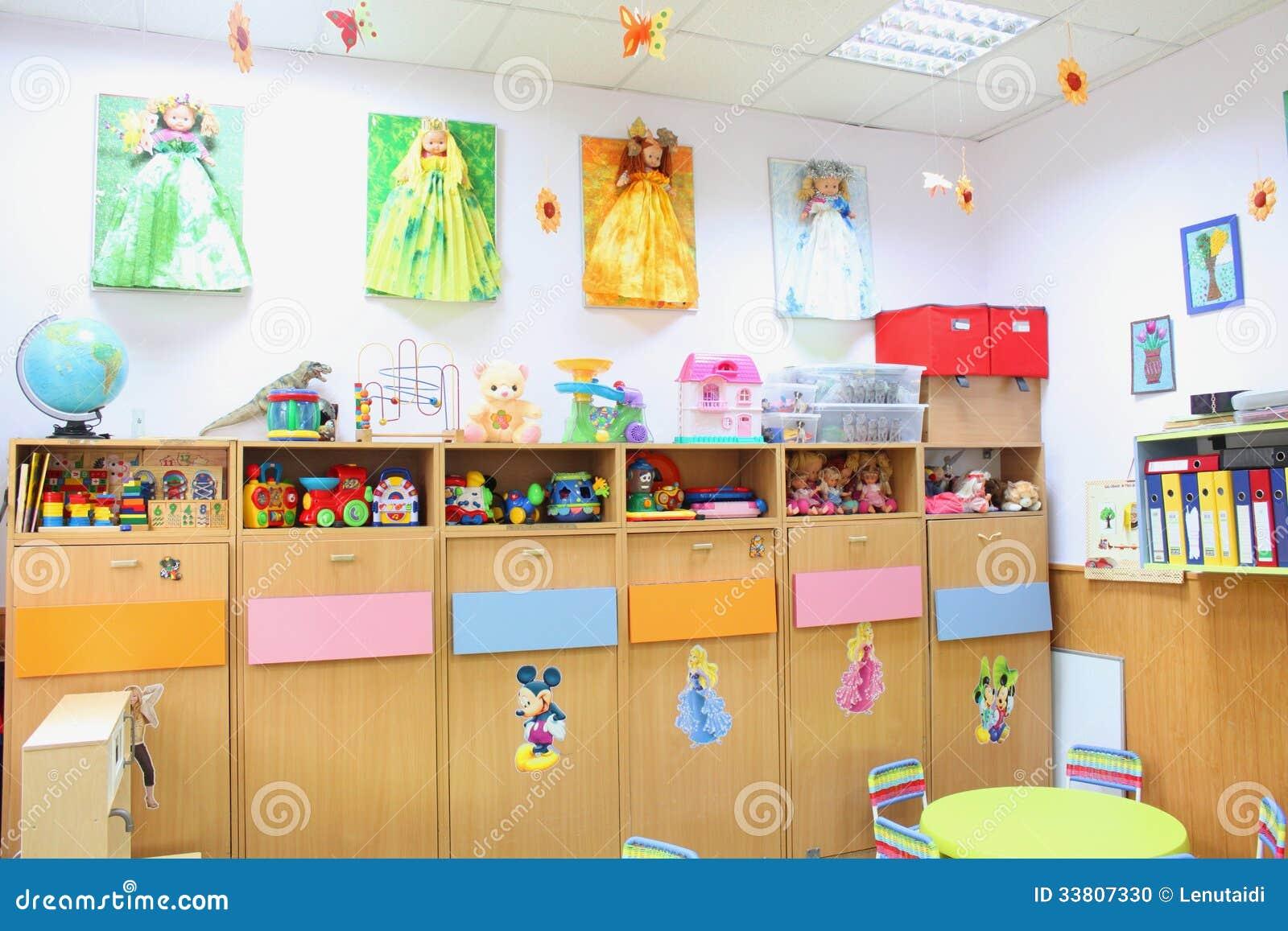 imagens para jardim de infância:Sala De Aula Do Jardim De Infância Imagem Editorial – Imagem