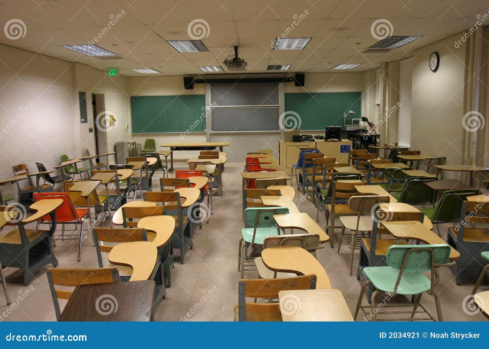 Sala de clase de la escuela