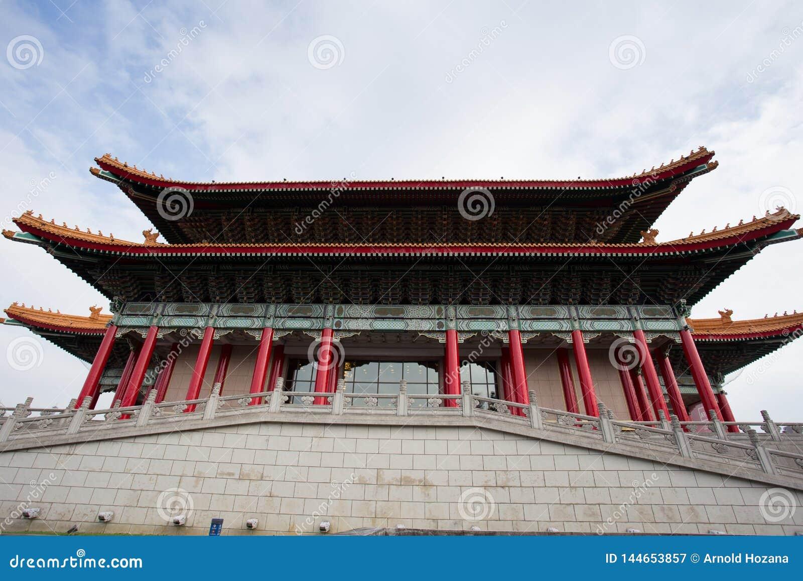 Sala de concertos nacional em Chiang Kai Sek Memorial Park