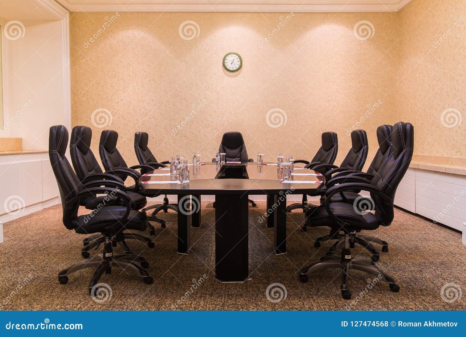Sala de conferências para reuniões de negócios