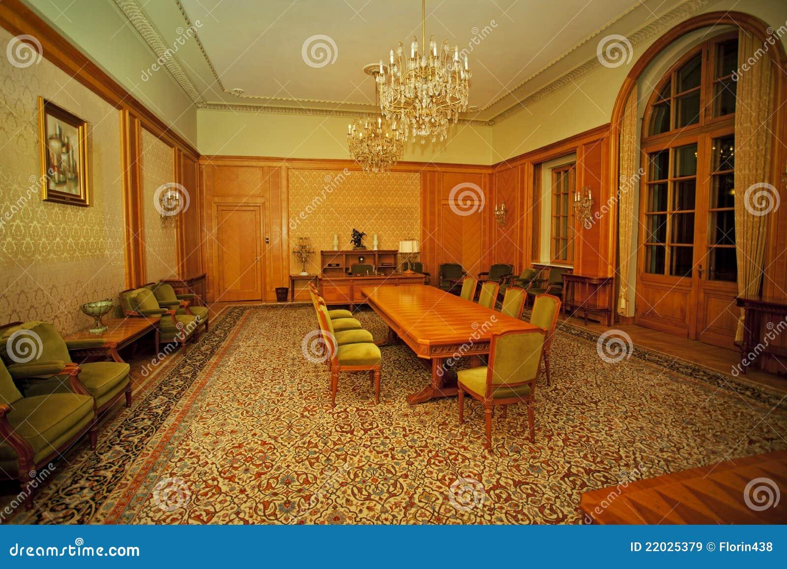 Sala de conferencias clásica