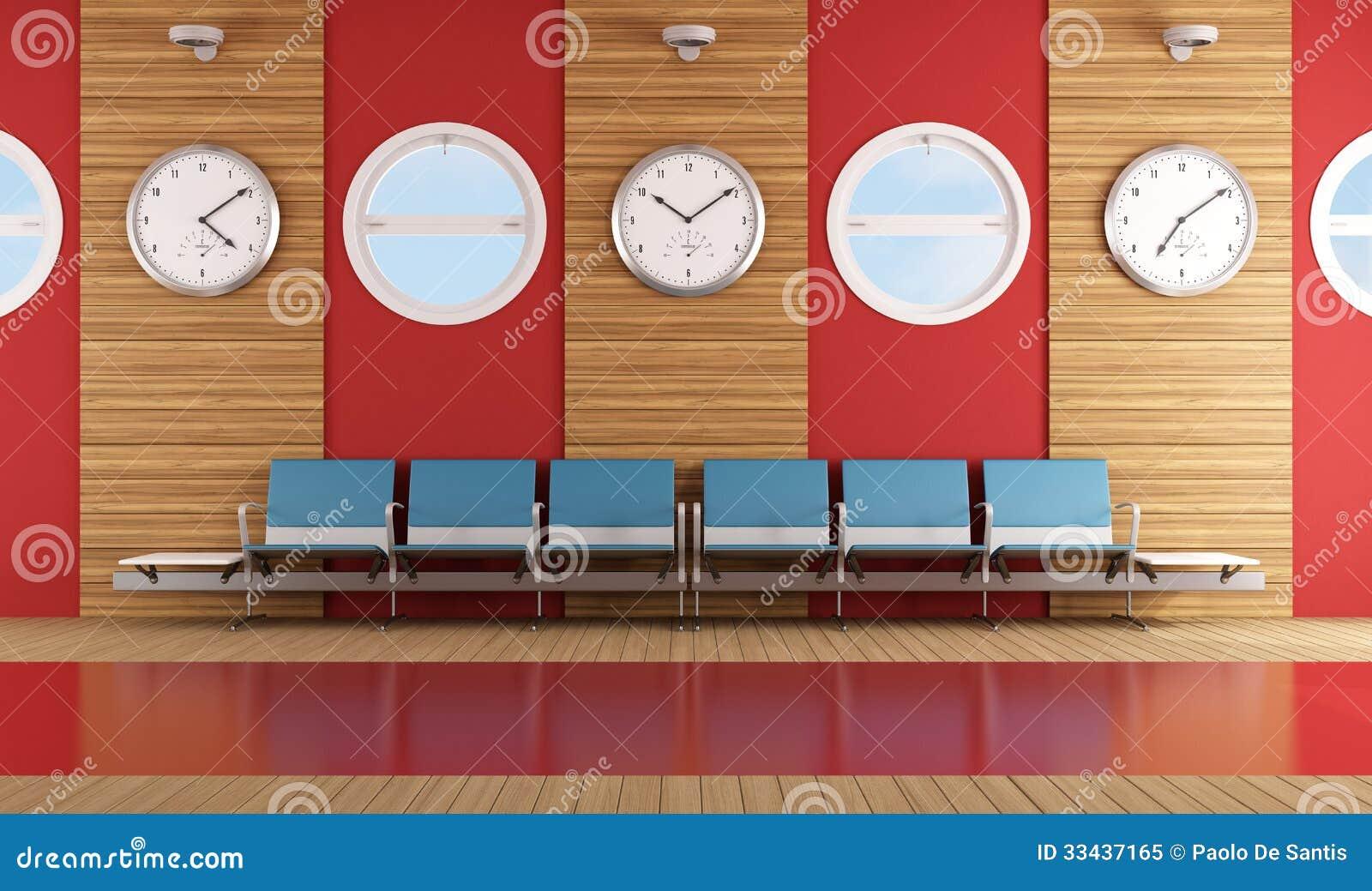 Sala de espera contemporánea