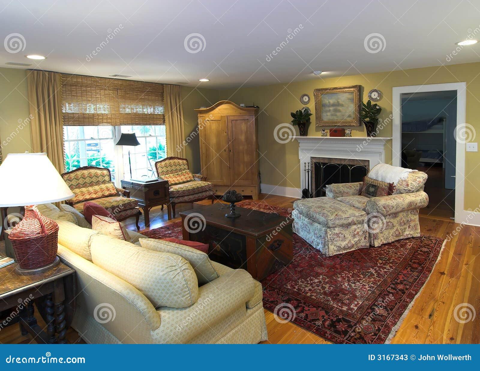 Sala de estar acogedora fotos de archivo imagen 3167343 for Salas de estar acogedoras