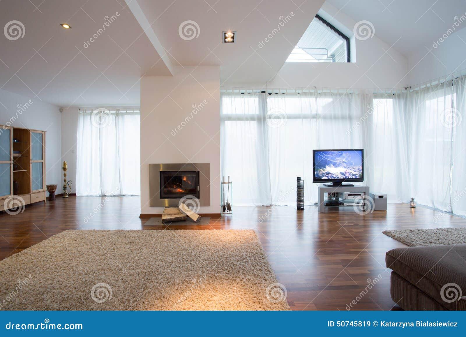 ms imgenes similares de sala de estar acogedora con la chimenea