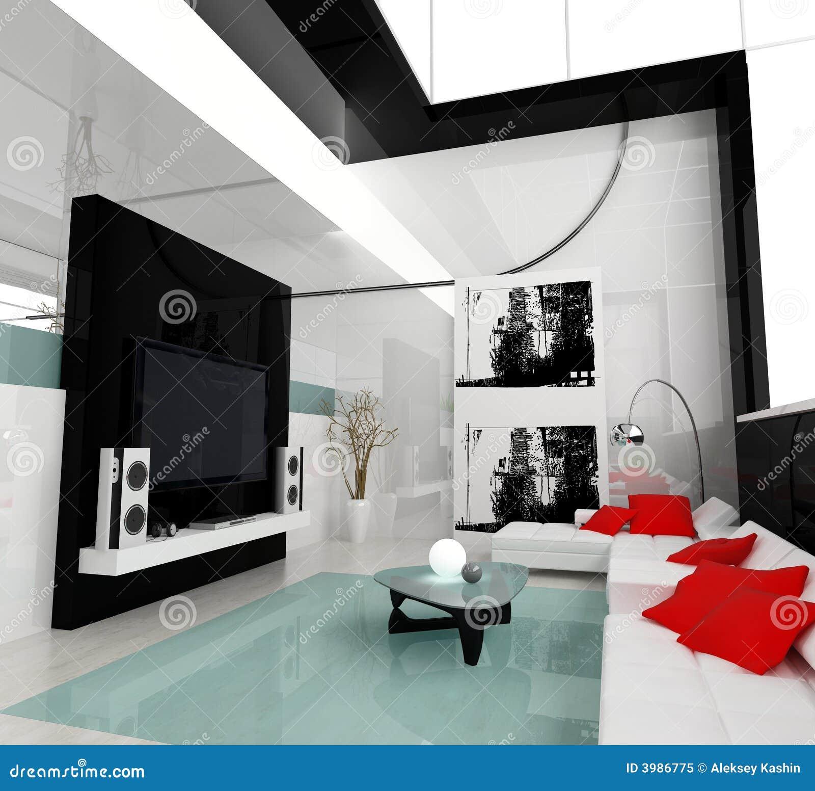 Sala De Estar Branca E Rosa ~ Sala De Estar Branca Foto de Stock Royalty Free  Imagem 3986775