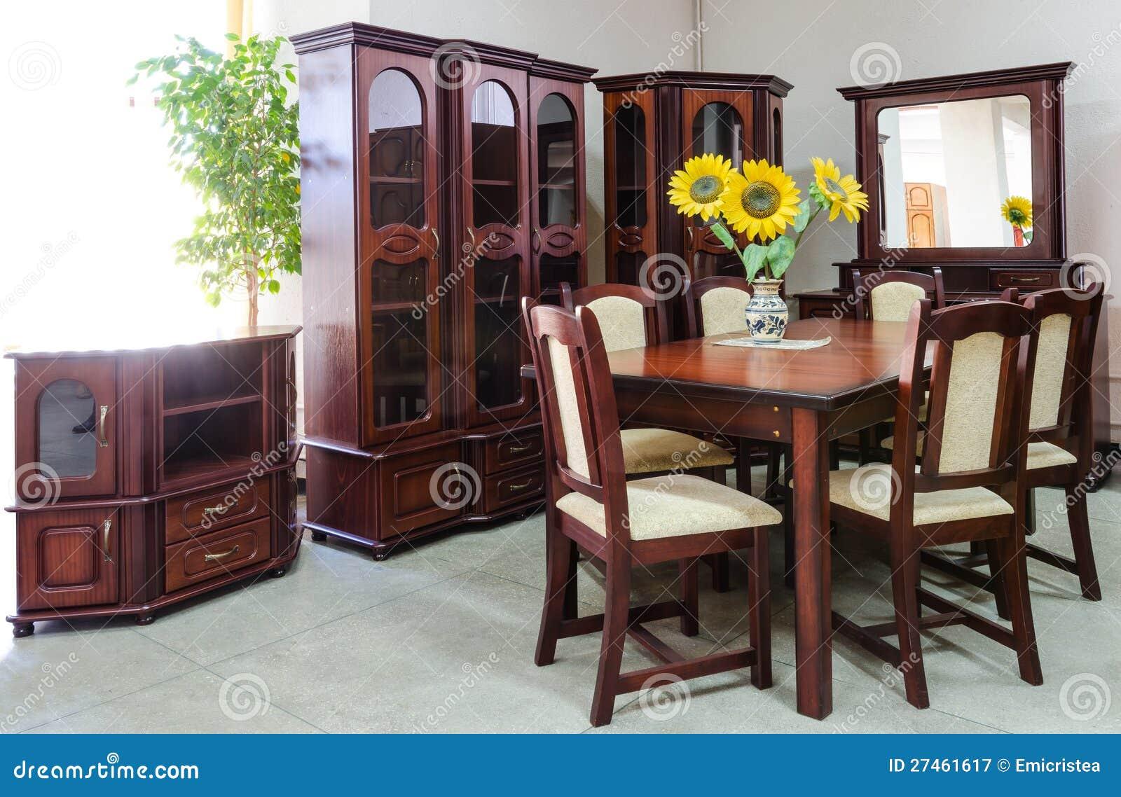 Sala De Estar Con Los Muebles Cl Sicos Stock De Ilustraci N  # Muebles Sala De Estar