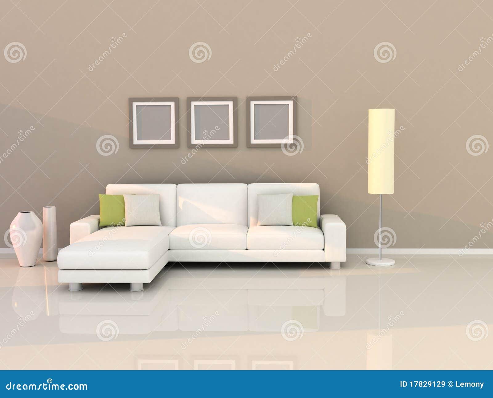 Sala de estar con estilo moderno