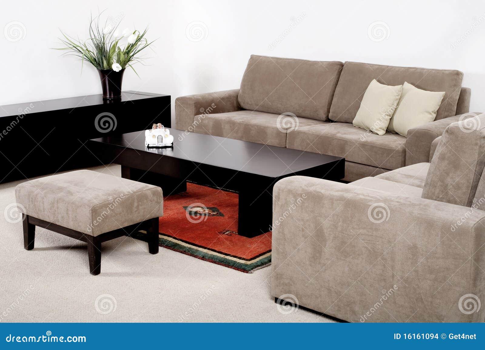 Sala De Estar Con Los Muebles Modernos Foto De Archivo Imagen De - Muebles-modernos-de-sala