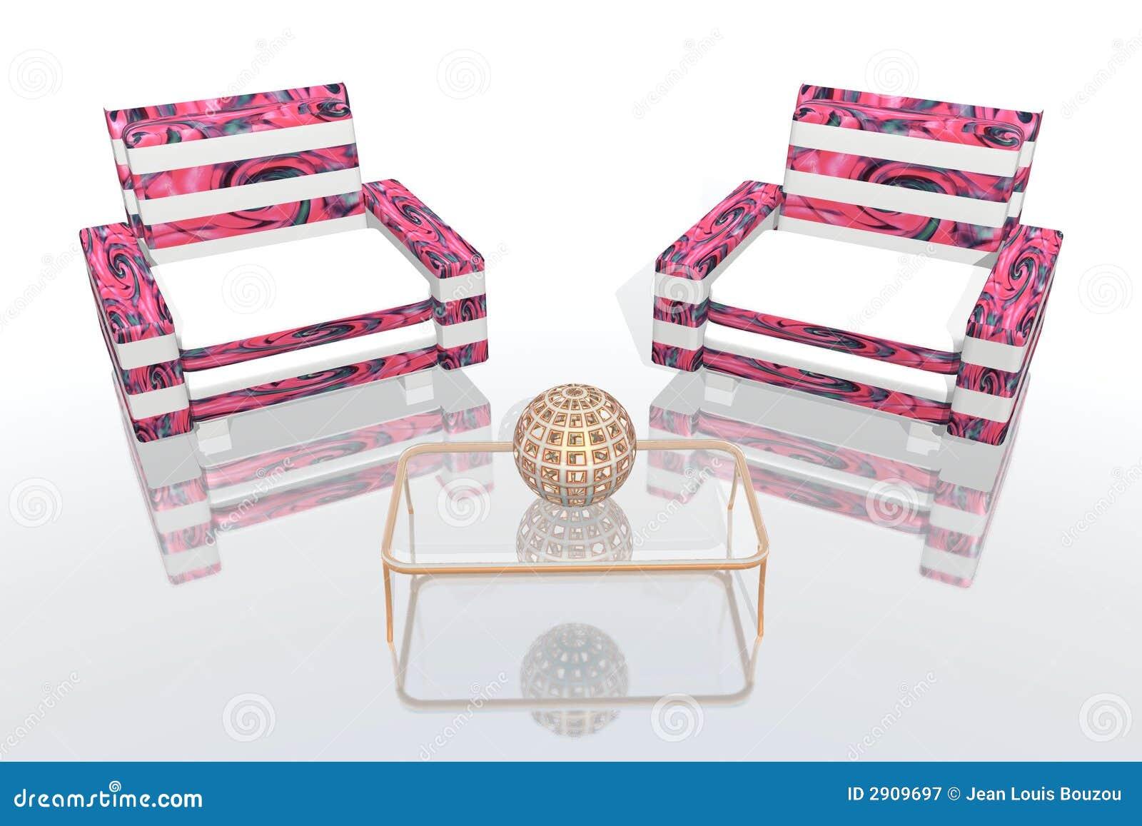 Sala De Estar Cor De Rosa ~ Sala De Estar Corderosa Fotografia de Stock Royalty Free  Imagem