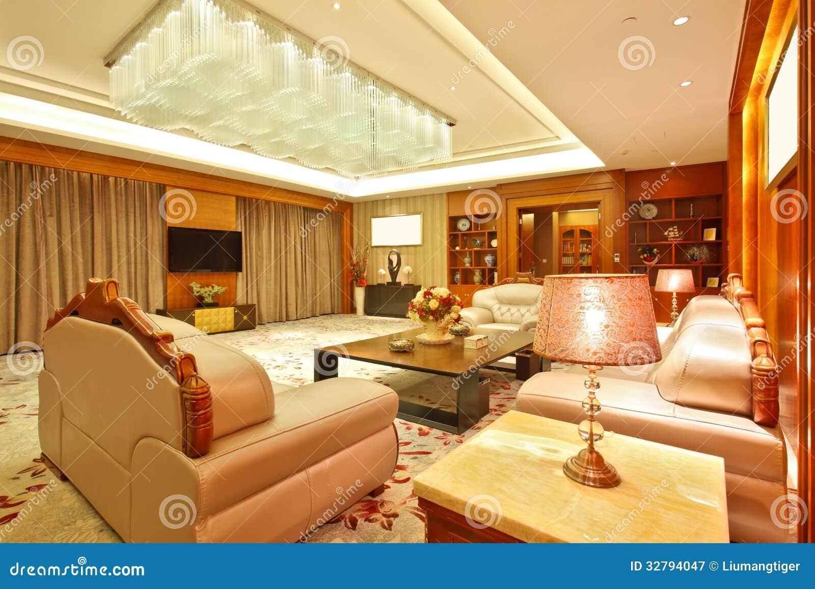 Sala de estar de la habitaci n presidencial fotograf a de for Sala de estar de un hotel