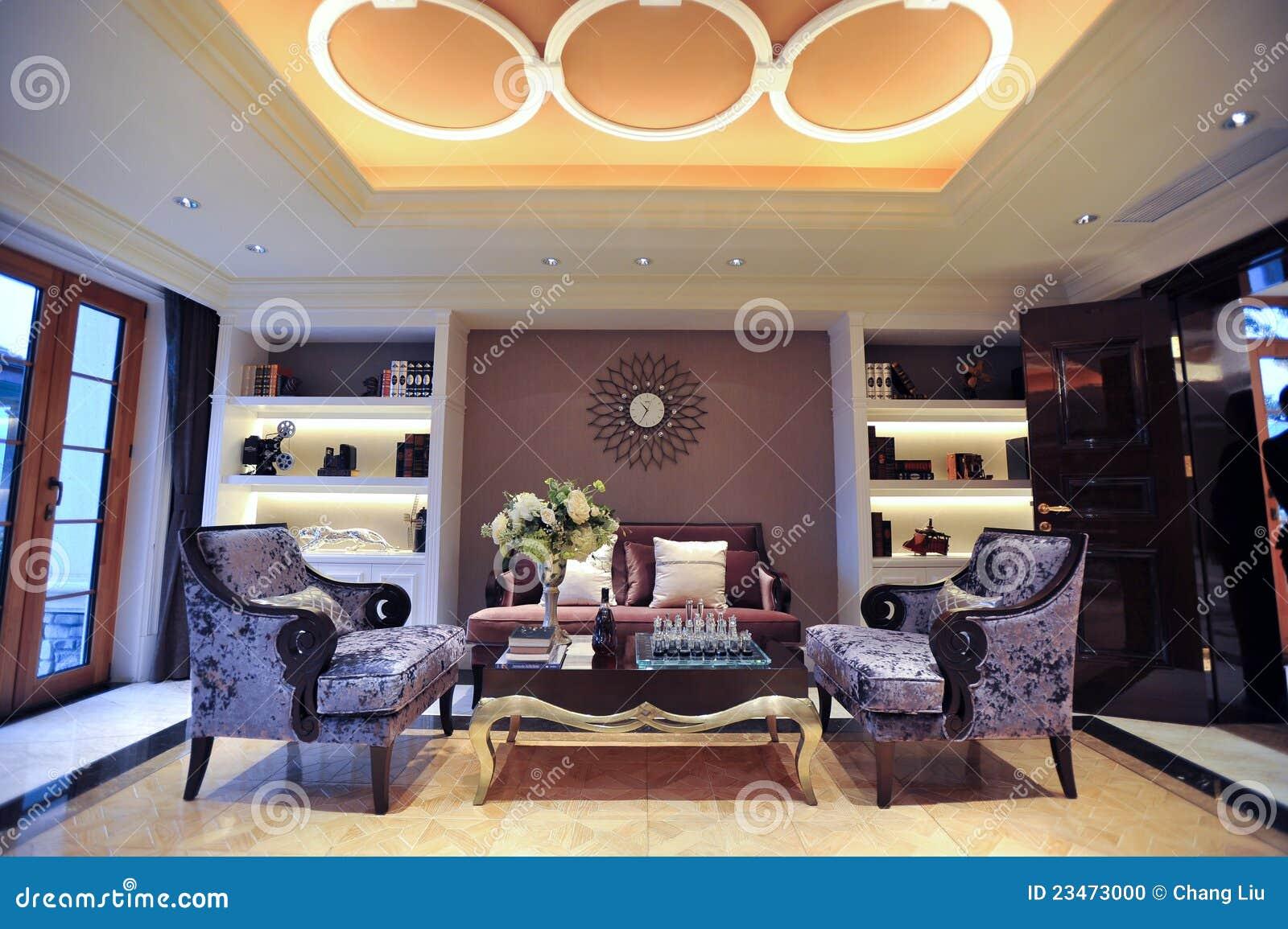 Sala de estar de la mansi n foto de archivo imagen 23473000 for Sala de estar de una mansion