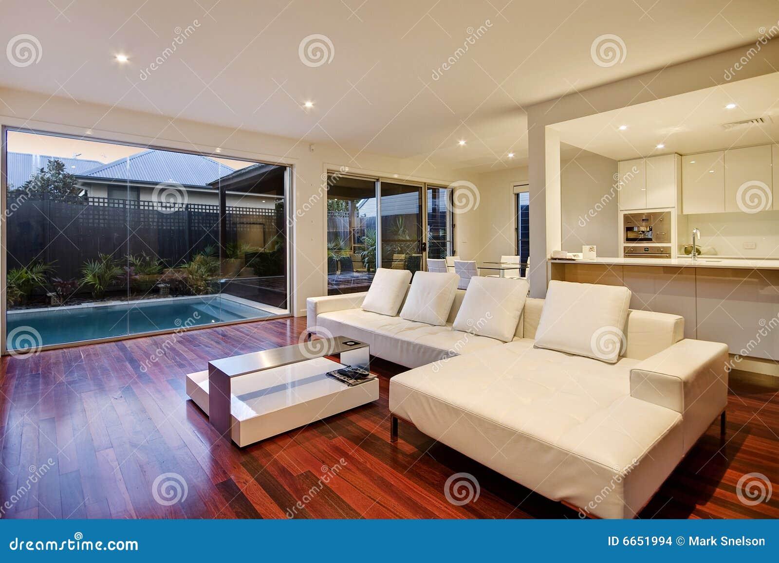 Woonkamer En Keuken Ineen : Luxury Living Room