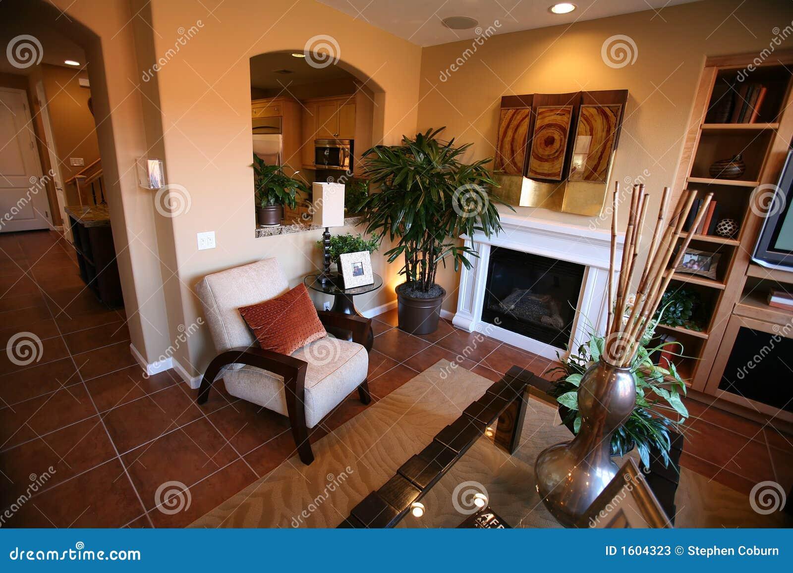 Sala de estar elegante fotos de archivo imagen 1604323 for Fotos de sala de estar