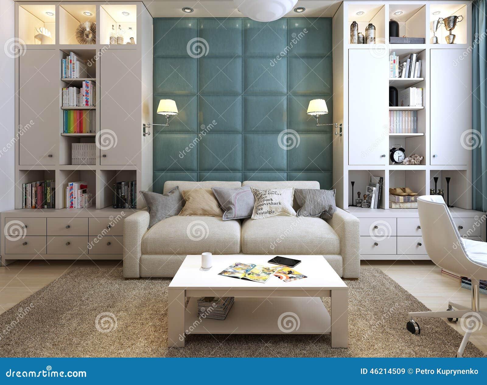 Sala de estar en un estilo moderno