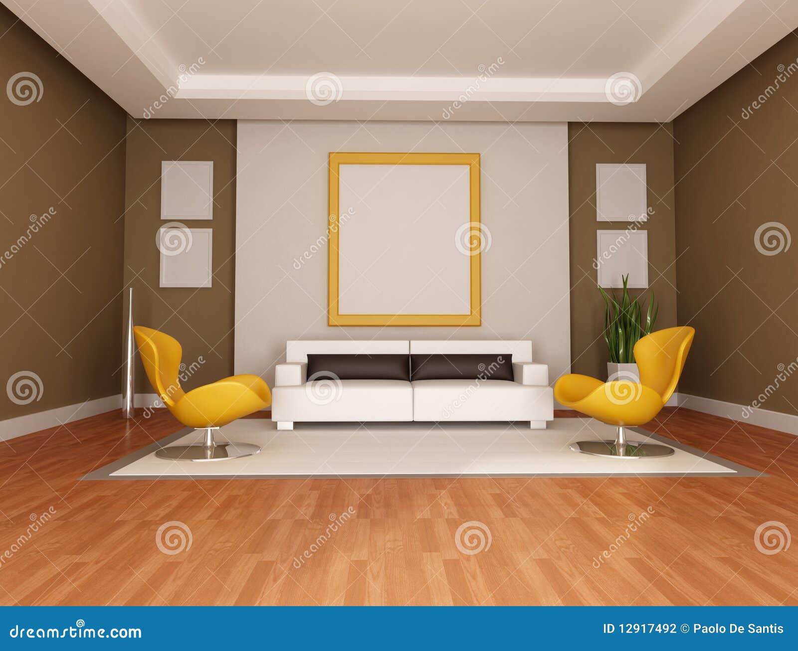 Sala de estar moderna fotografia de stock imagem 12917492 for Sala de estar modernos