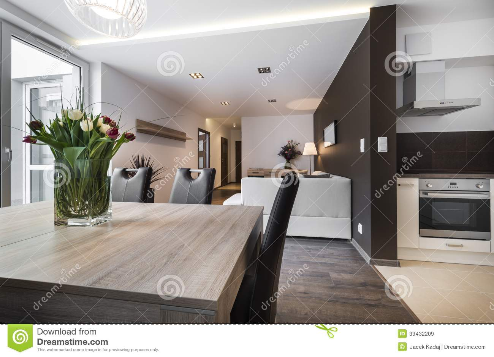 Sala de estar moderna del diseño interior