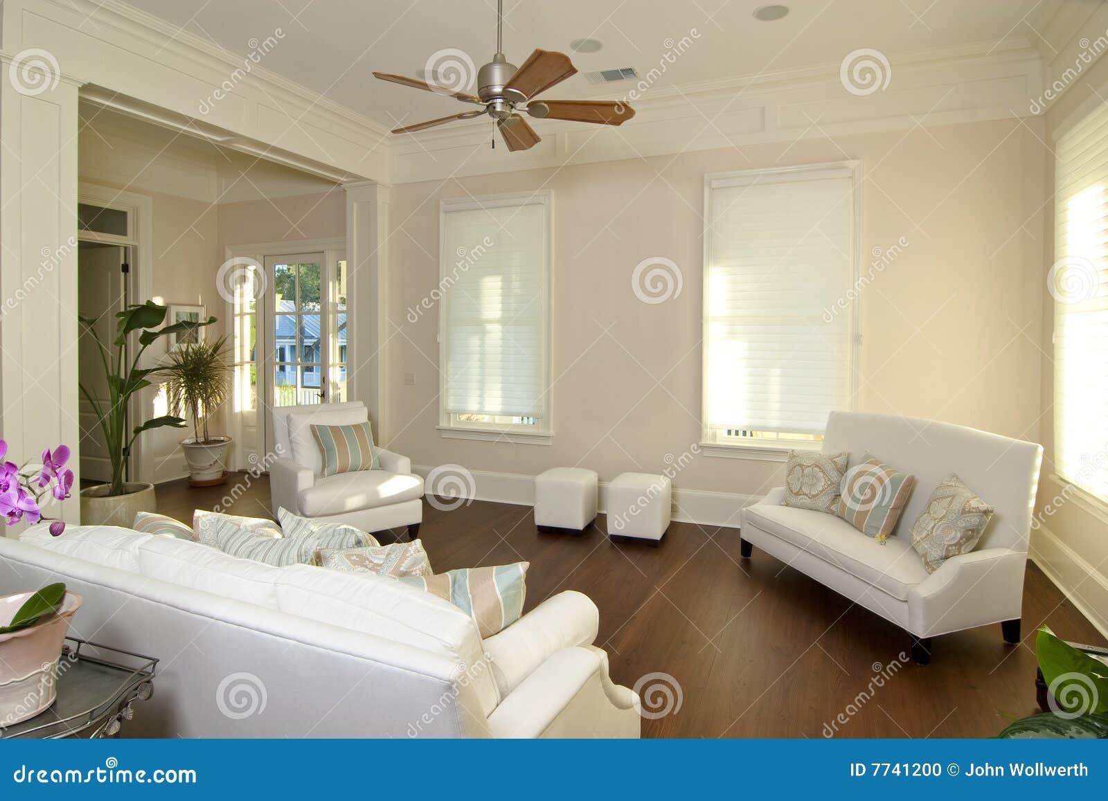 Sala de estar moderna elegante foto de archivo imagen for Saloni eleganti