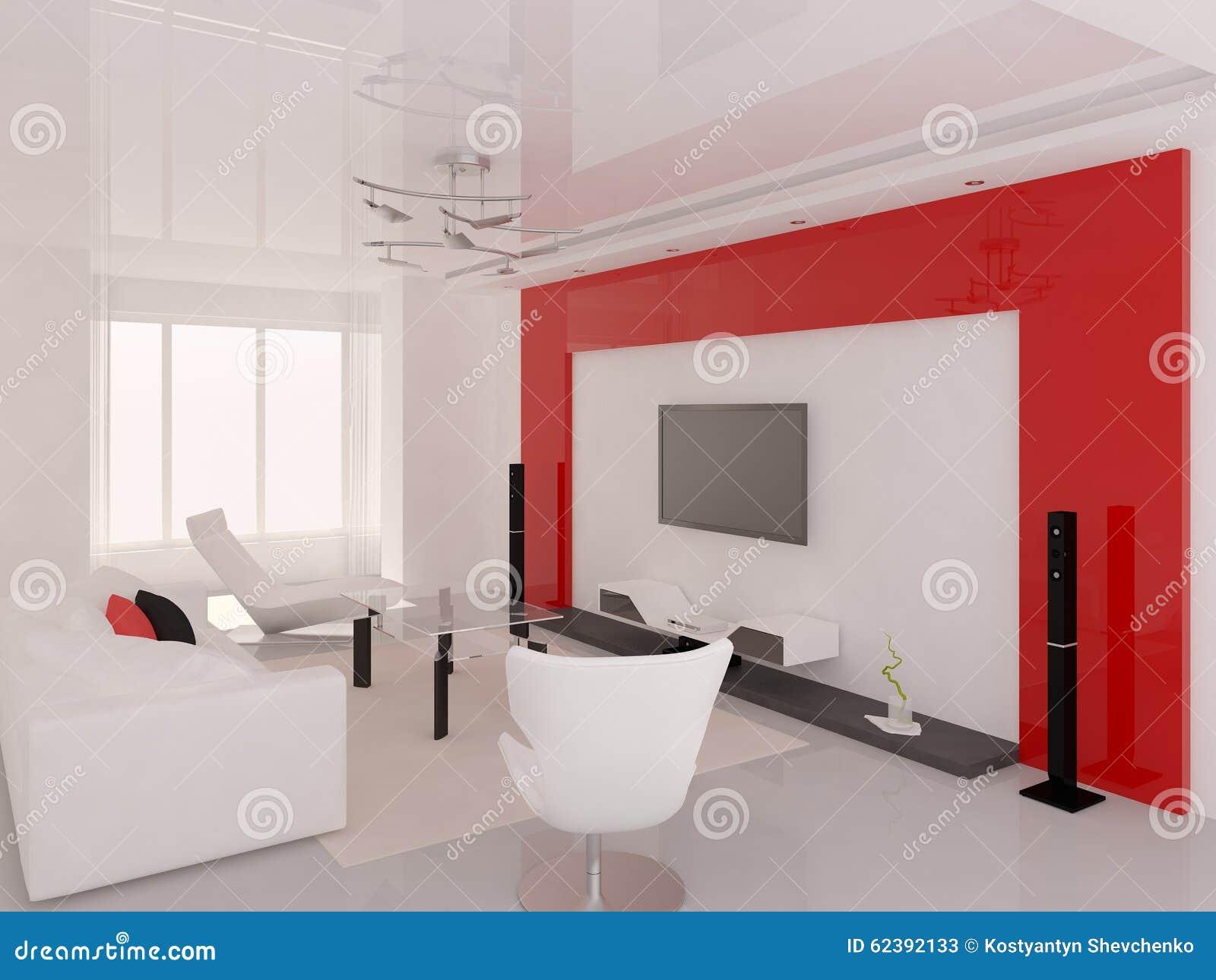 Sala de estar moderna funcional foto de archivo editorial for Sala de estar funcional