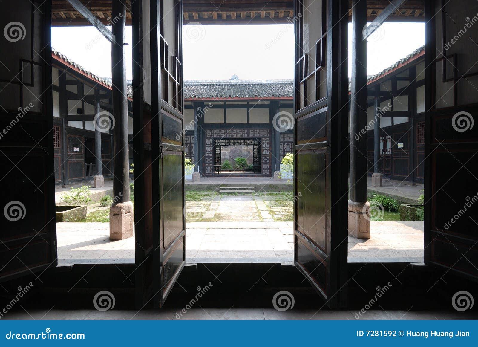 Sala de estar tradicional china