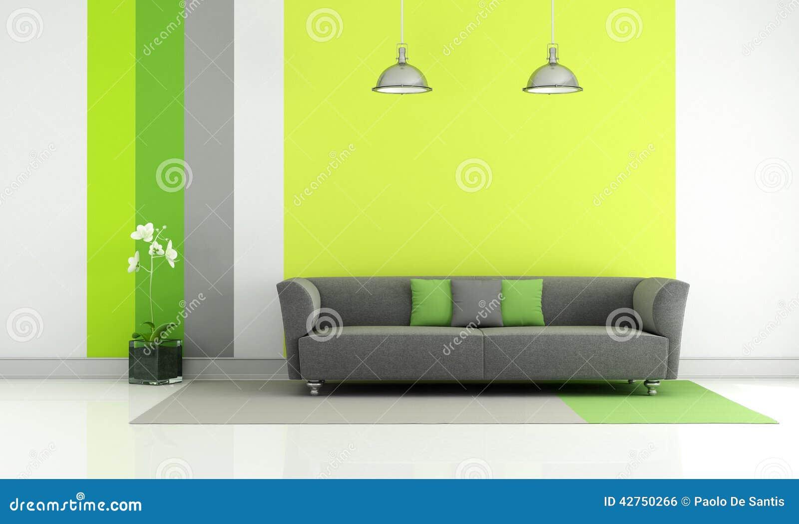 Sala de estar gris