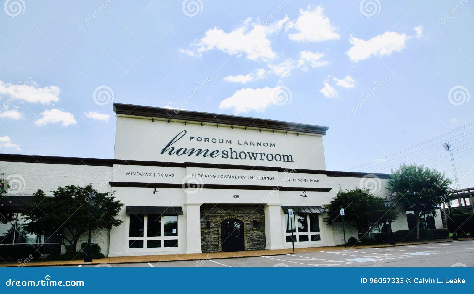 Sala de exposições Jackson da casa de Forcum Lannom, TN