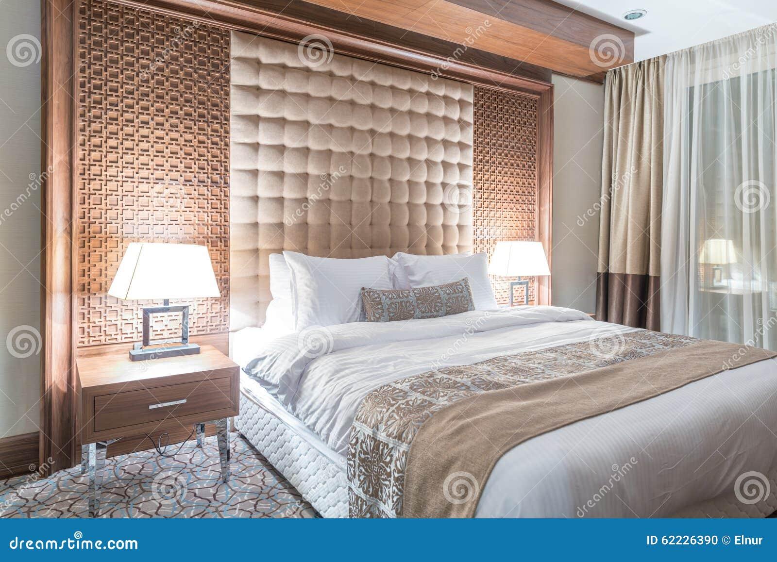 A sala de hotel com interior moderno