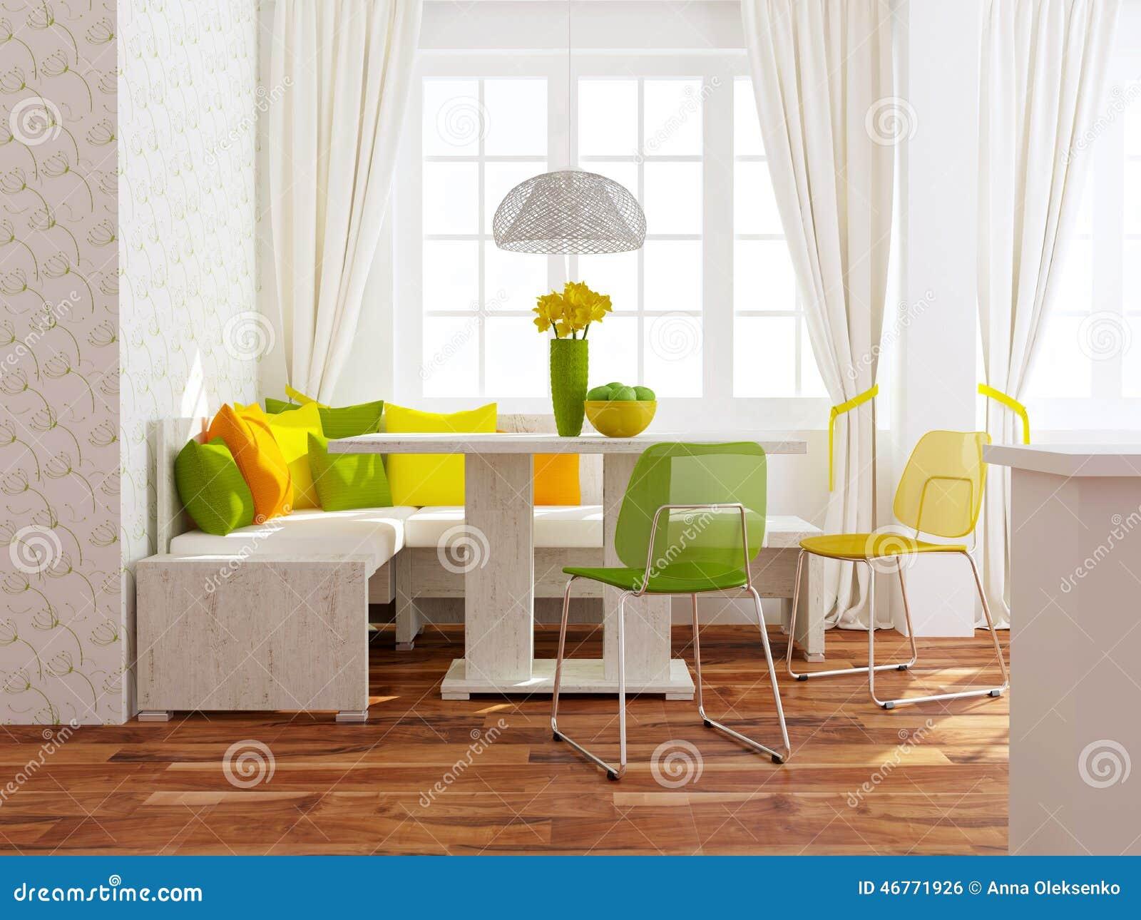 sala de jantar moderna : Sala De Jantar Moderna Foto de Stock - Imagem: 46771926