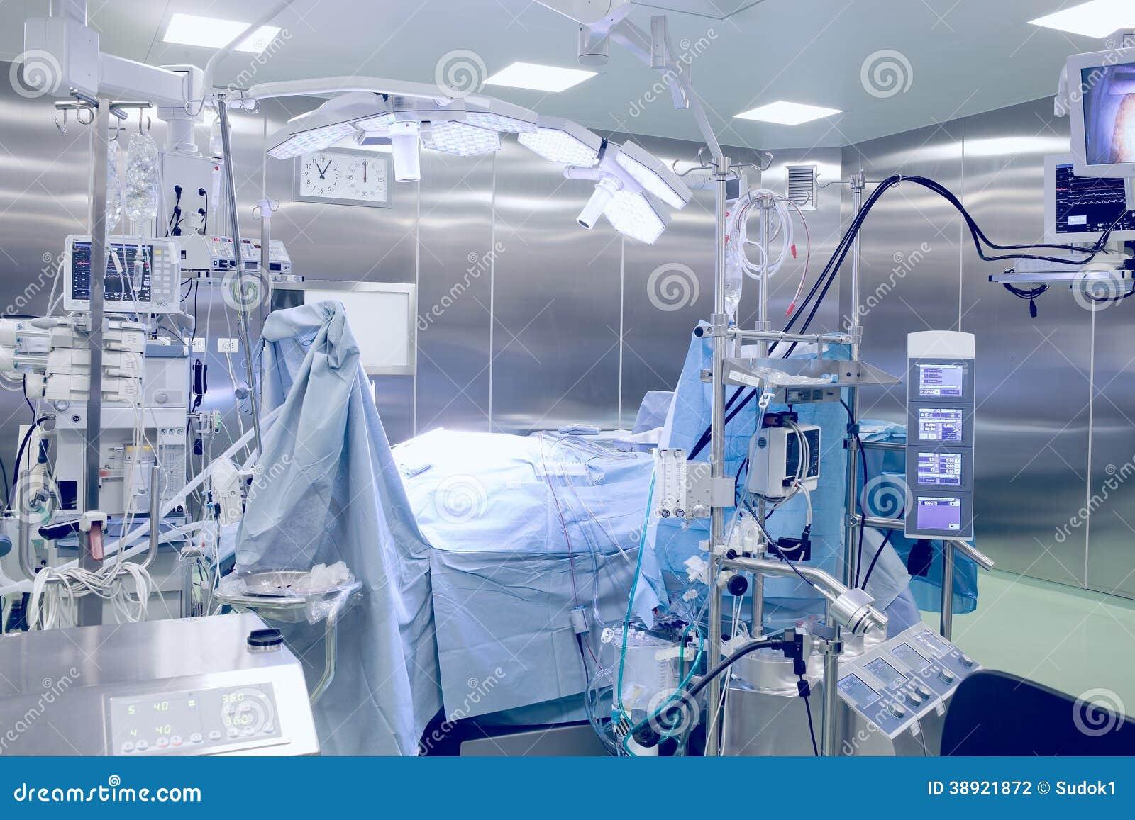 Sala de operaciones quirúrgica