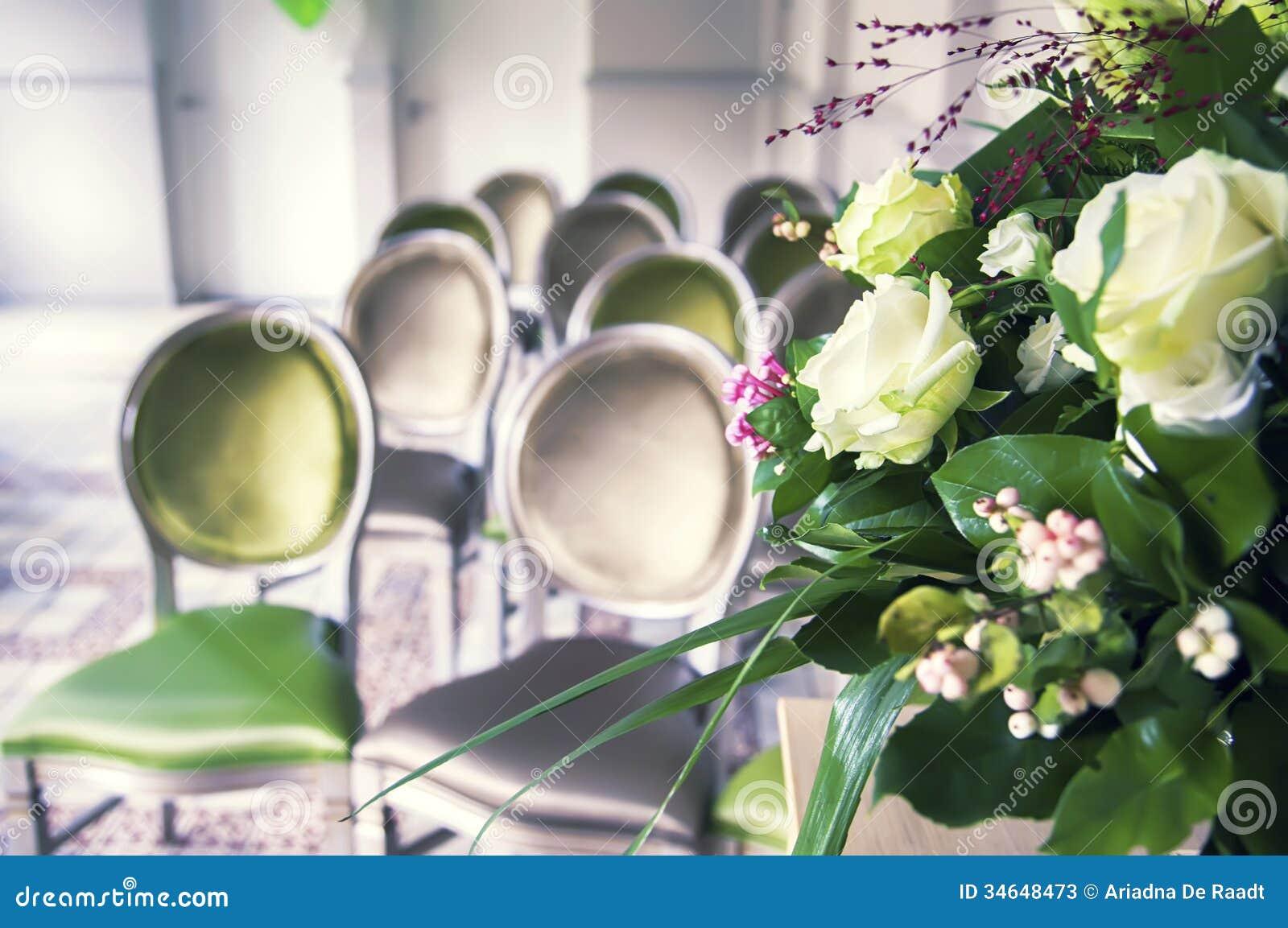 Sala do ceremonial do casamento