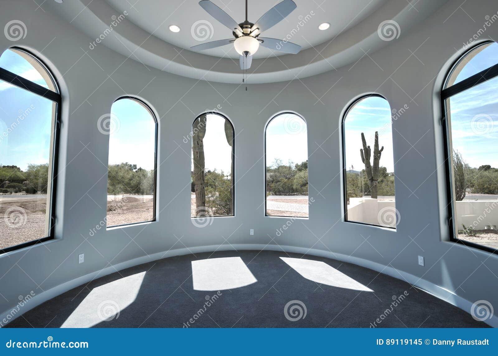 Sala home moderna nova da mansão