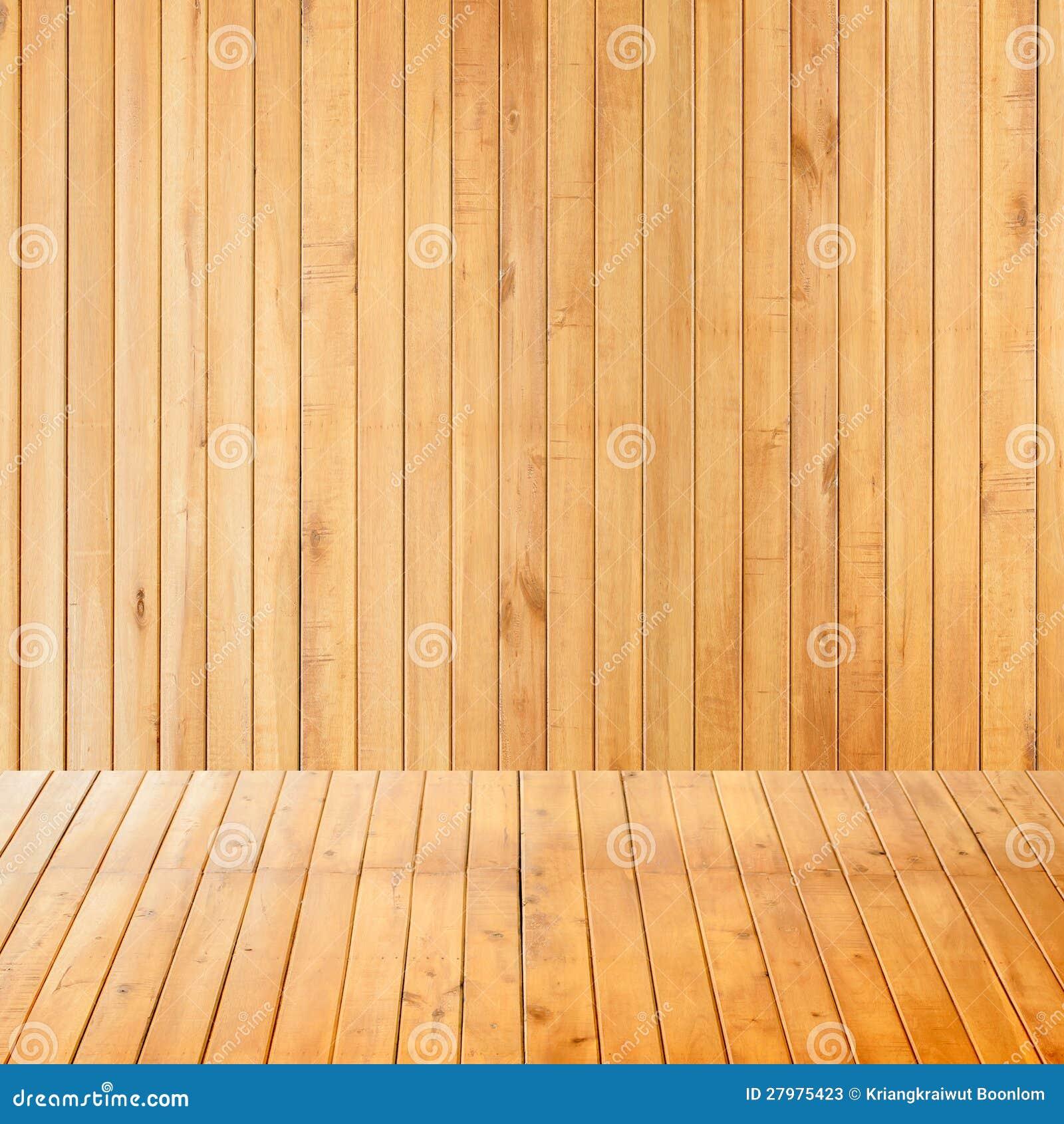 Sala interior vazia com parede de madeira fotos de stock - Madera para pared interior ...