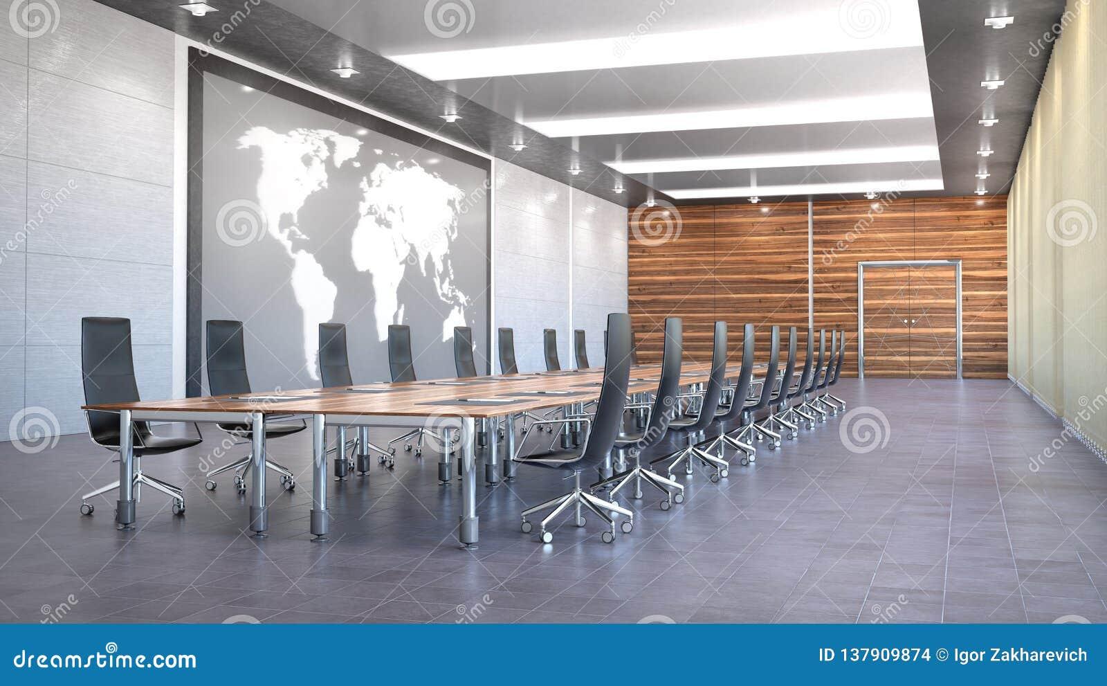 Sala konferencyjnej wnętrze