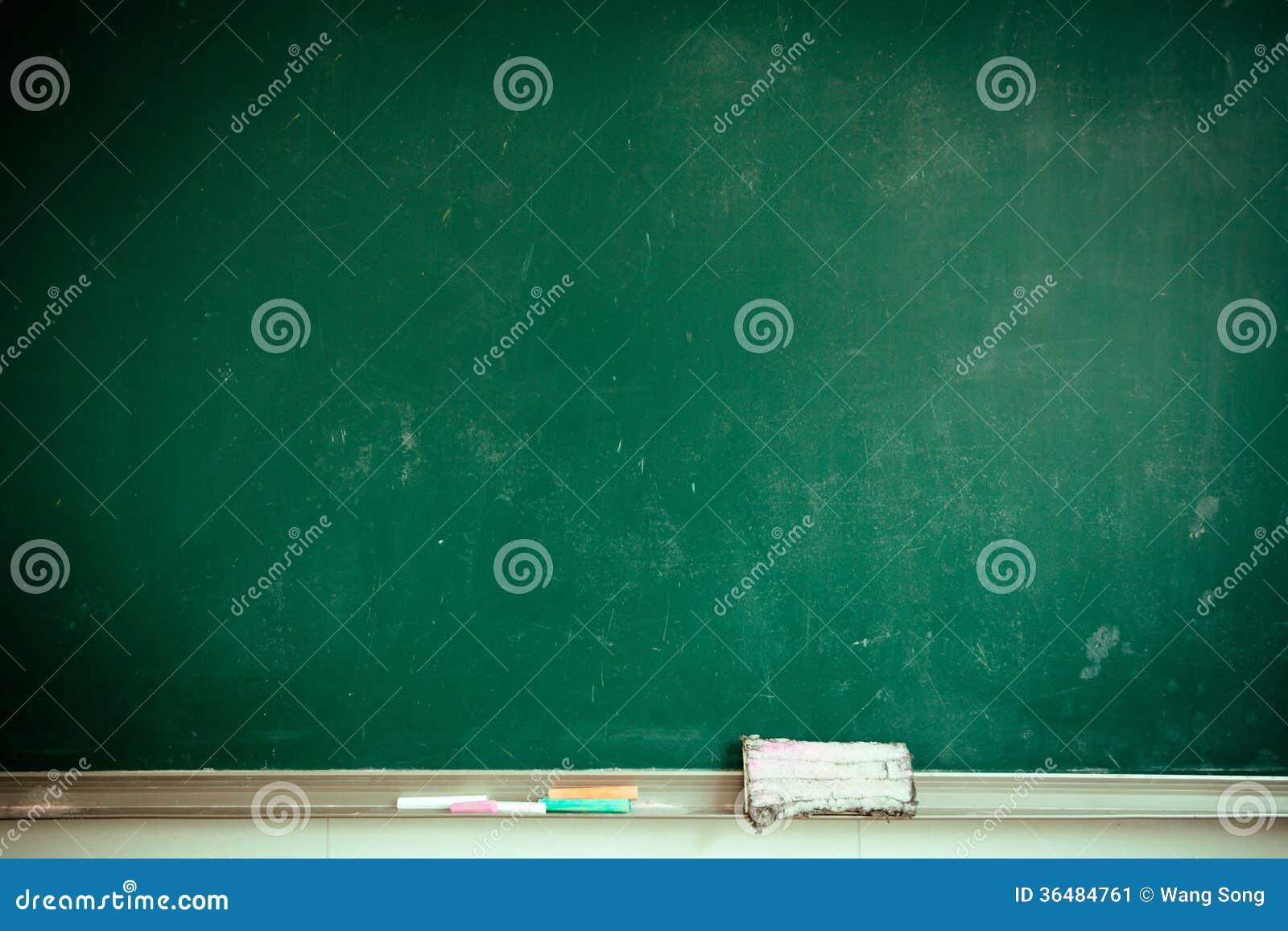 Sala lekcyjnej blackboard