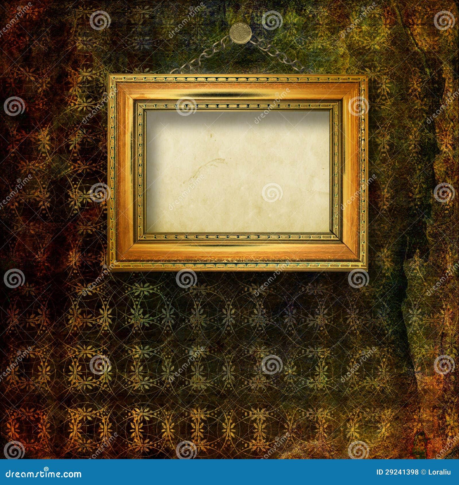 Download Sala Velha Com As Sobras Anteriores Do Luxo Ilustração Stock - Ilustração de decor, velho: 29241398