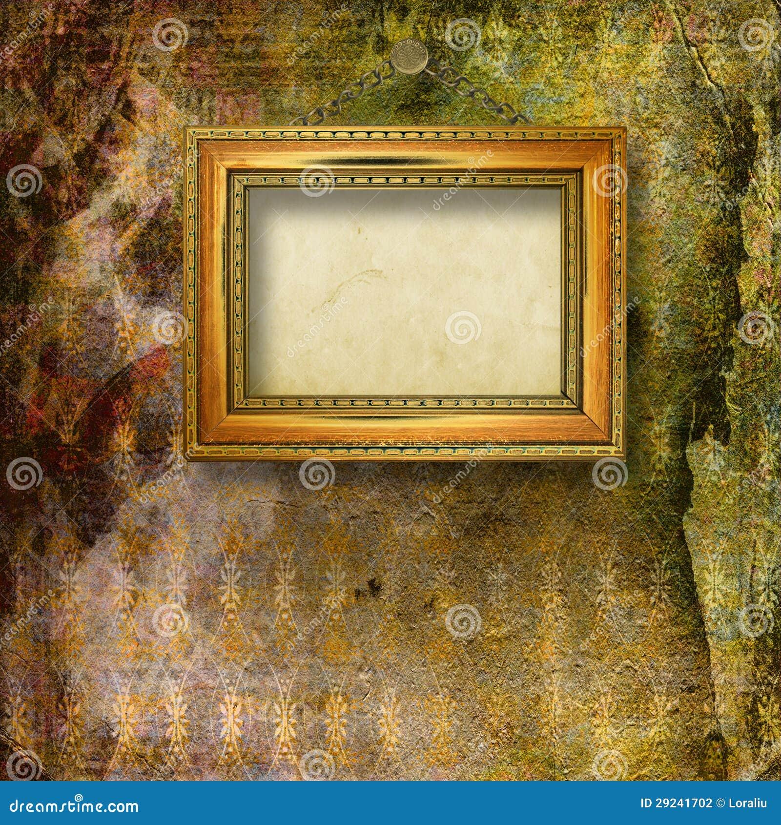 Download Sala Velha Com As Sobras Anteriores Do Luxo Foto de Stock - Imagem de ouro, assoalho: 29241702