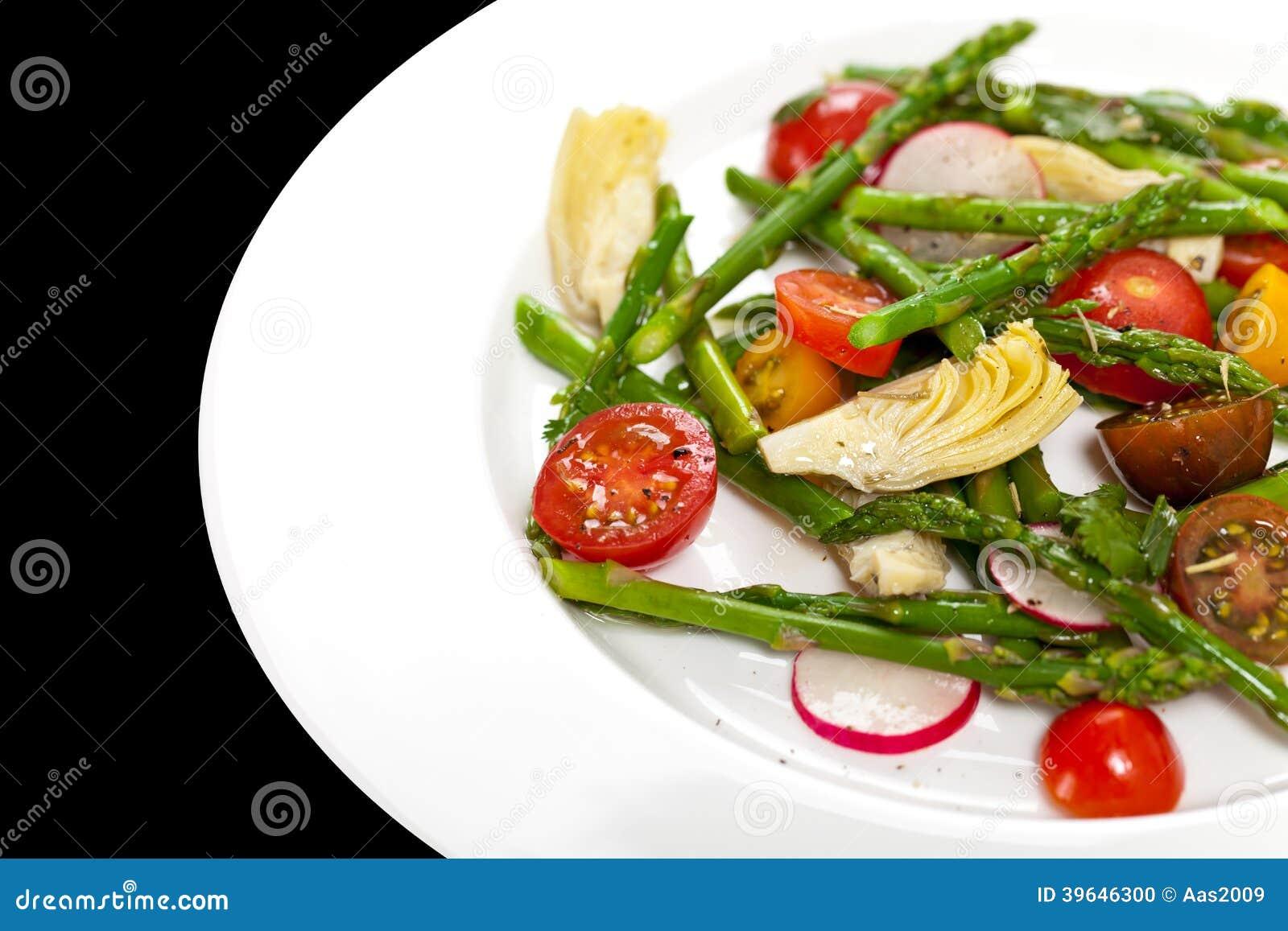 Salad with Asparagus