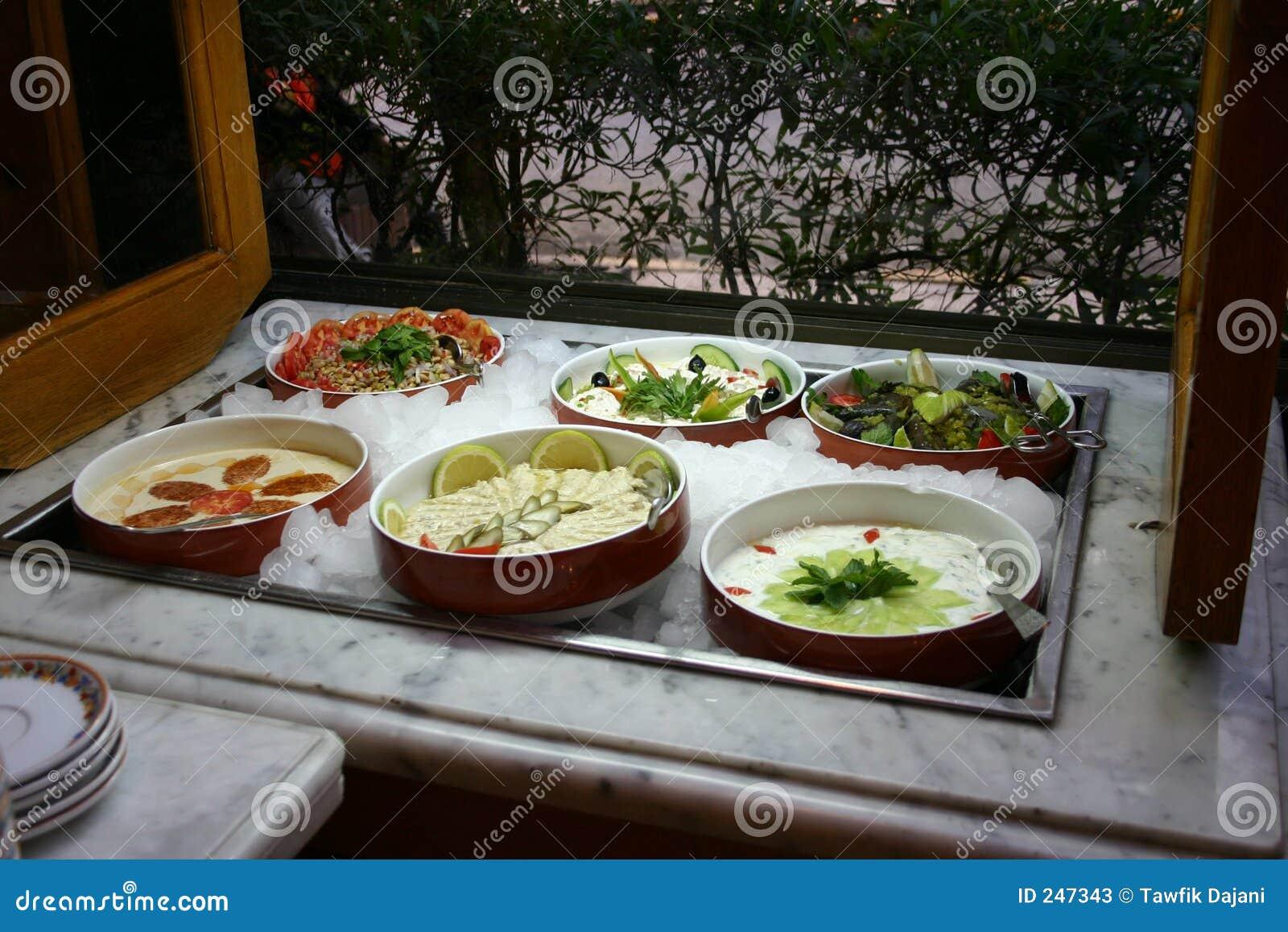 salad bar stock image image of stuffed cold salads. Black Bedroom Furniture Sets. Home Design Ideas